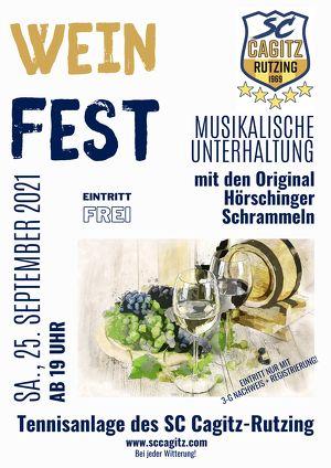 Weinfest des SC Cagitz-Rutzing