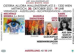 bilder.worte.töne mit La BreM, Manuela Eibensteiner, Jana Beck und Karin Leroch