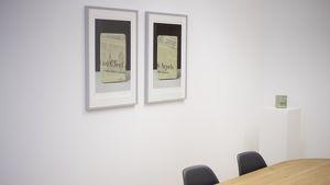 Einladung zum Künstlergespräch mit Norbert Pümpel in unseren Büroräumen in Feldkirch