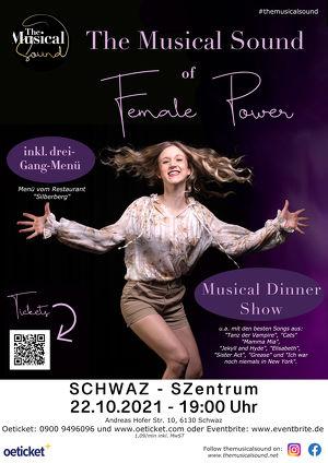 Musical Dinner Show - inkl. 3-Gänge-Menü