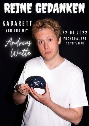 """Andreas Wutte - Kabarett """"Reine Gedanken"""""""