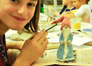 Kinder Keramik Kurs Nikolaus